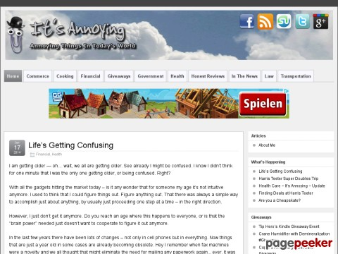 WordPress Blog Site